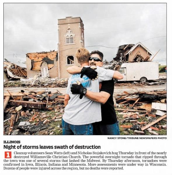Williamsville-Beason, IL EF3 Tornado – August 19, 2009