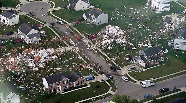 Xenia, OH F4 Tornado – September 20, 2000