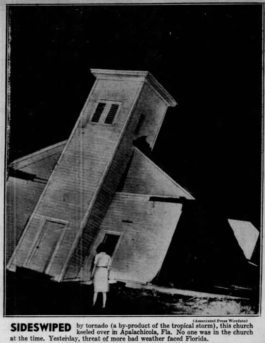 Apalachicola, FL F3 Tornado – September 19, 1947