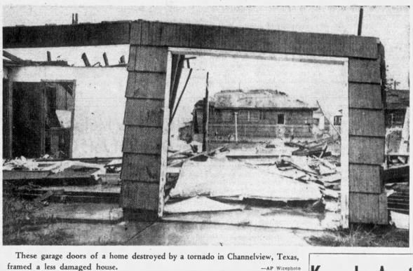 Channelview, TX F3 Tornado – September 11, 1961