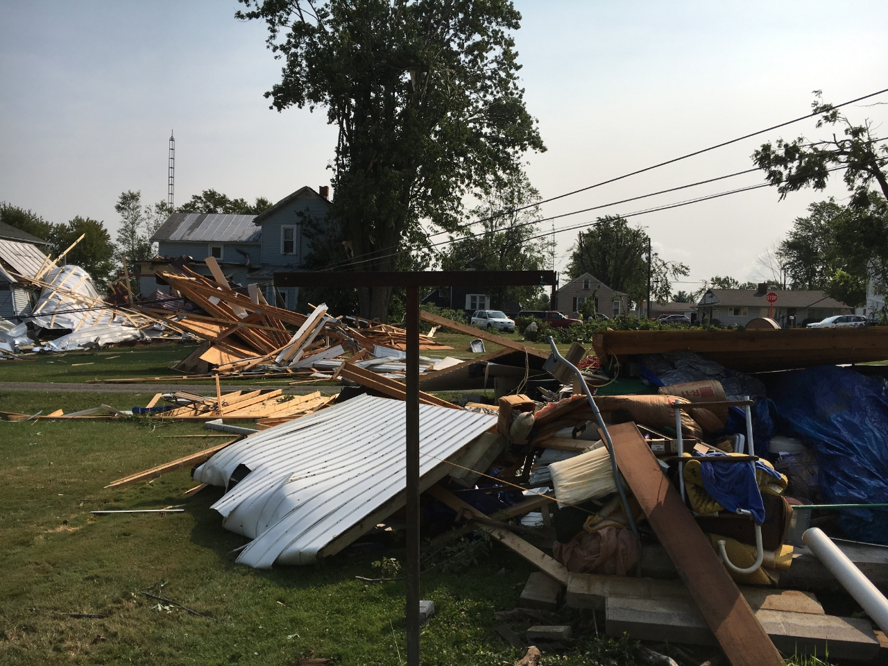 North Robinson-Mansfield, OH, EF2 Tornado – September 4, 2017