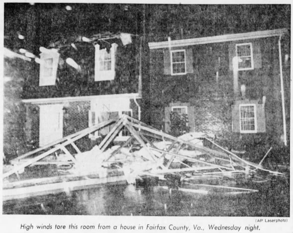 Groveton-Fairfax, VA F3 Tornado – September 5, 1979