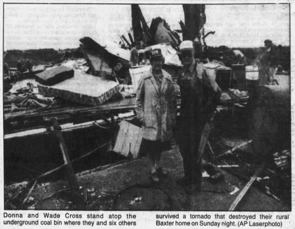 Polk & Jasper Counties, IA F4 Tornado – September 28, 1986