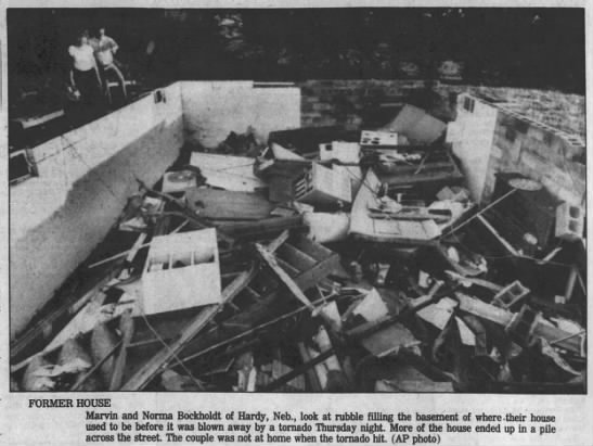 Republic (KS)-Hardy (NE) F3 Tornado – September 18, 1986