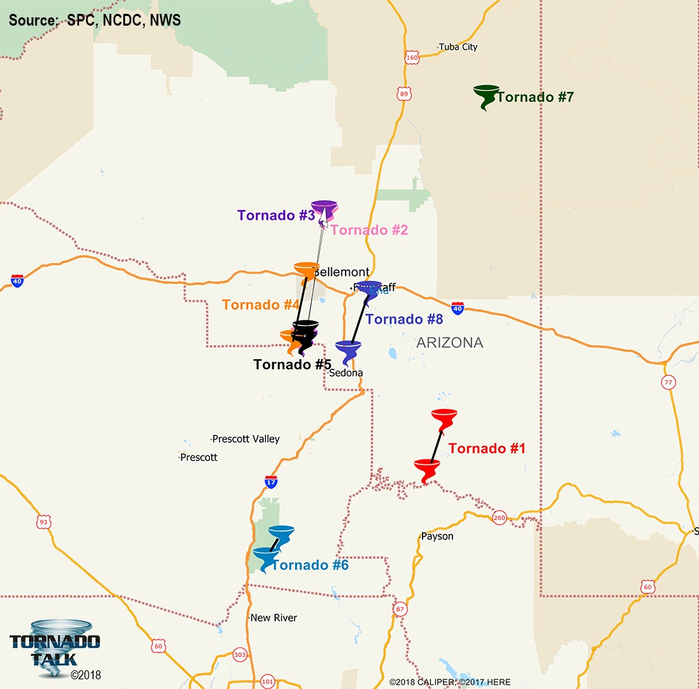 Arizona Tornado Outbreak – October 6, 2010