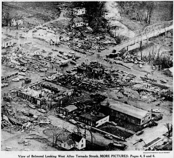 Belmond, IA F5 Tornado – October 14, 1966