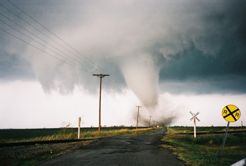 Cordell, OK F3 Tornado – October 9, 2001