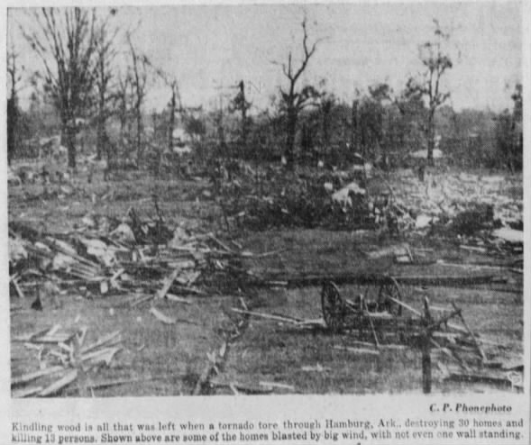 Hamburg, AR F4 Tornado – October 26, 1941