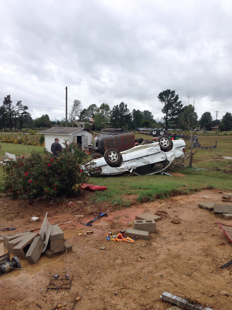 Little River County, AR EF2 Tornado – October 13, 2014