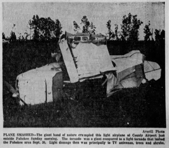 Palm Beach & Martin County, FL F3 Tornado – October 19, 1958