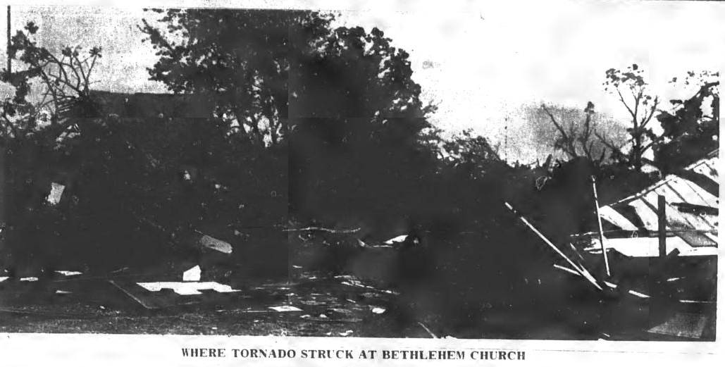 Vaughan-Lake Gaston, NC F2 Tornado – October 2, 1969
