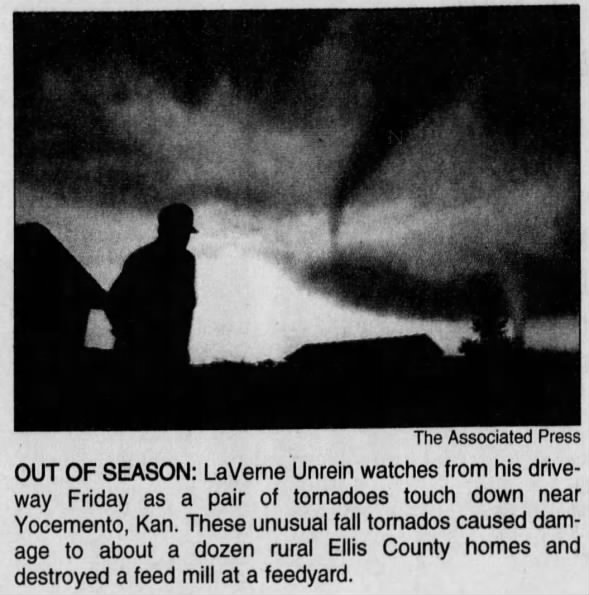 Yocemento, KS F3 Tornado – October 16, 1998
