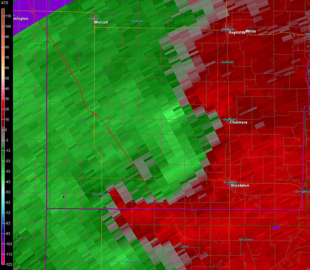 Benton and White County, IN EF2 Tornado – November 17, 2013