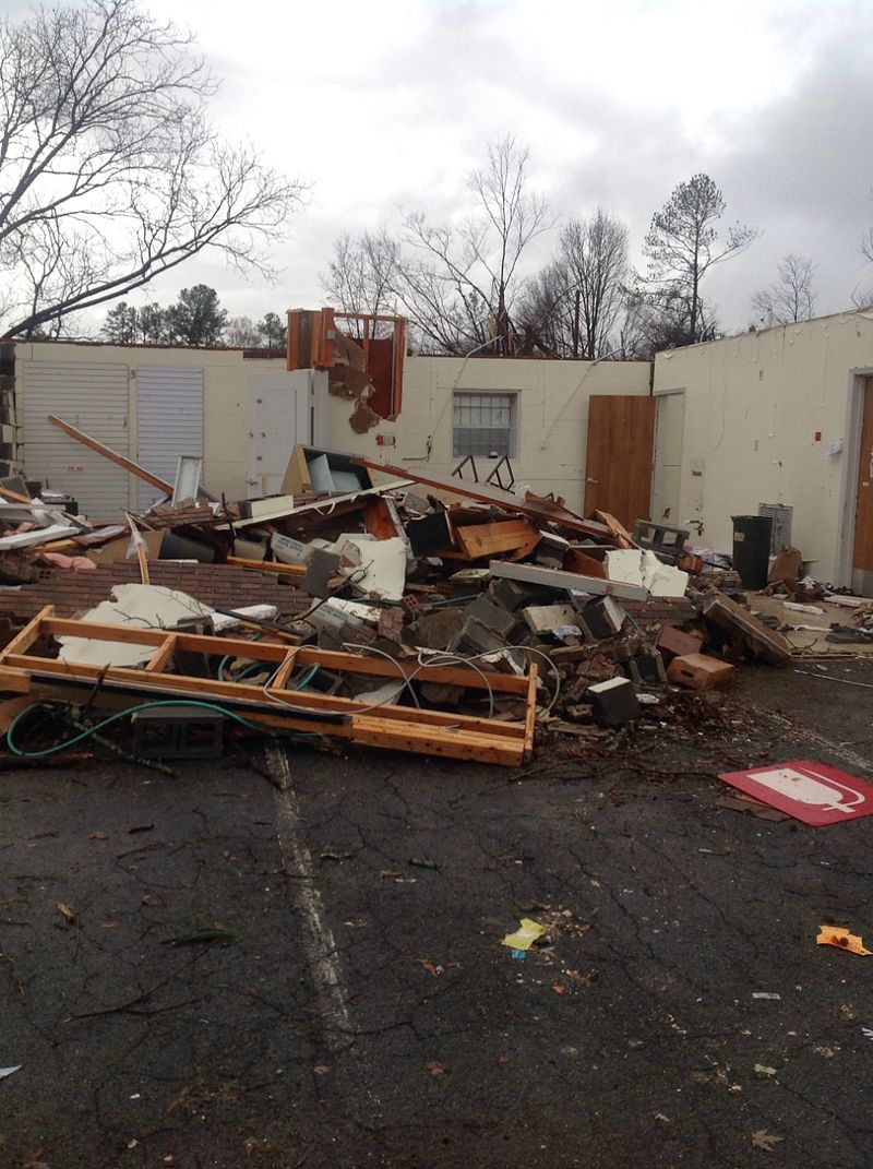 Ocoee-Benton, TN EF3 Tornado – November 30, 2016