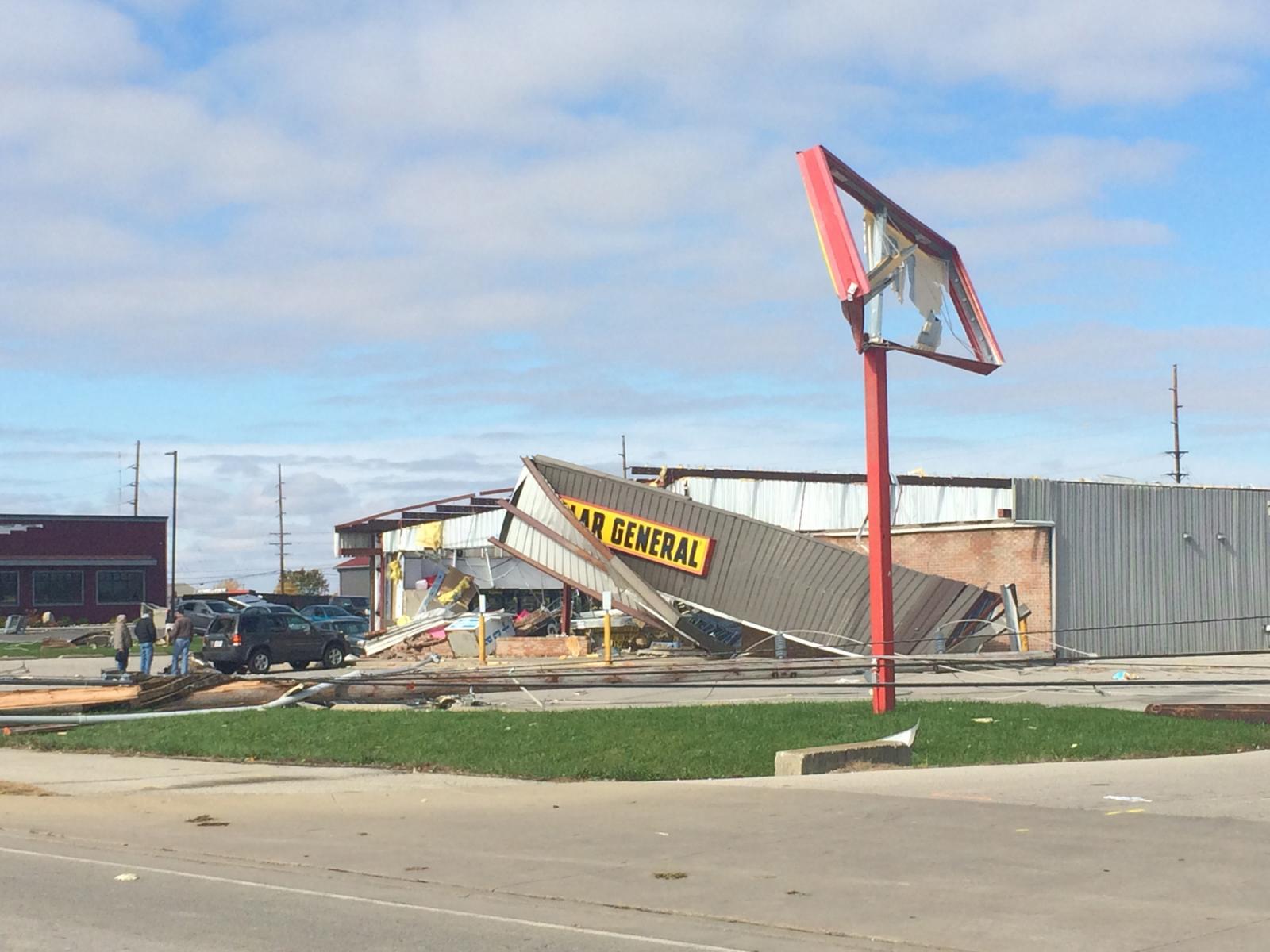Celina, OH EF2 Tornado – November 5, 2017