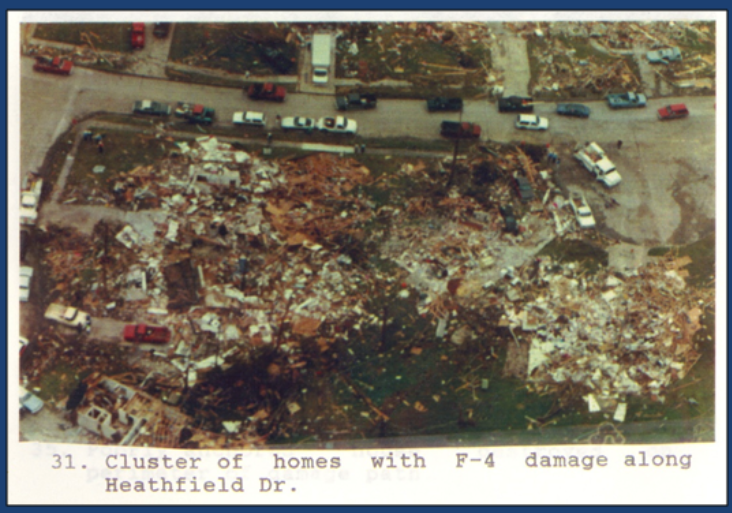 Channelview, TX F4 Tornado – November 21, 1992