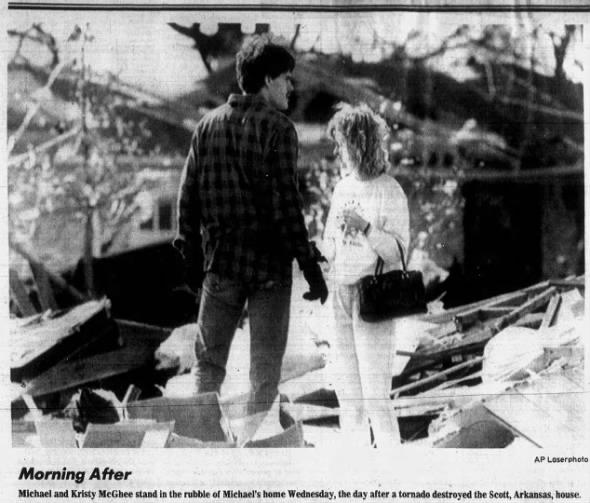 Scott-Lonoke, AR F2 Tornado – November 15, 1988