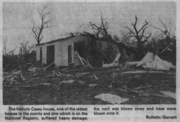 Ralph-Rea Valley, AR F3 Tornado – November 18, 1985