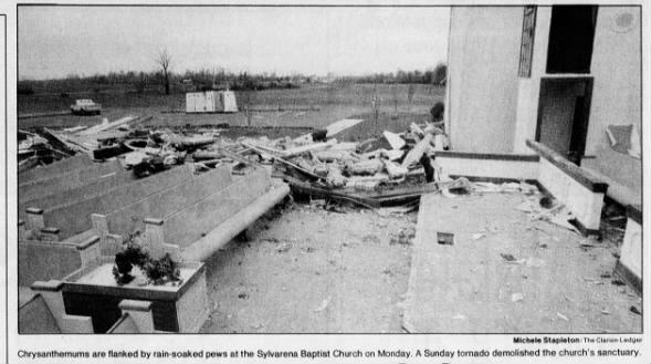 Sylvarena, MS F4 Tornado – November 22, 1992