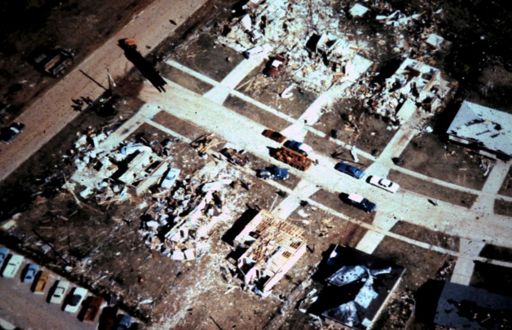 Bossier City, LA F4 Tornado – December 3, 1978