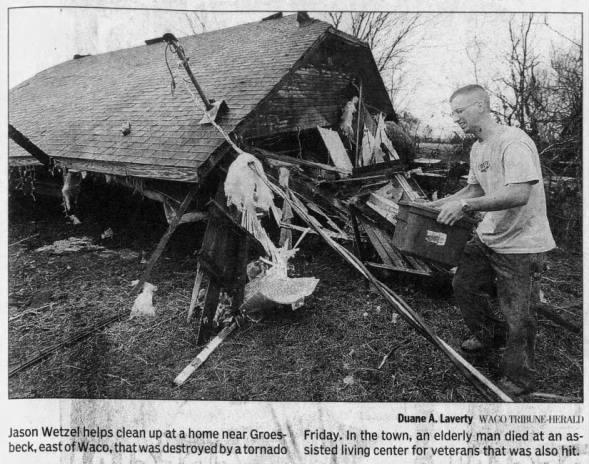 Kosse-Groesbeck, TX F2 Tornado – December 29, 2006
