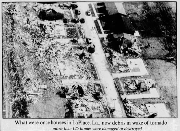 LaPlace, LA F4 Tornado – December 6, 1983