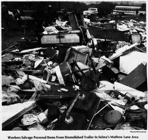 Selma, AL F3 Tornado – December 6, 1983