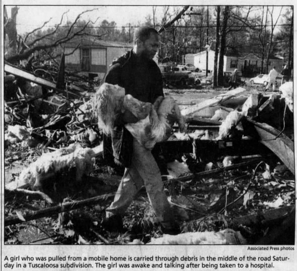 Tuscaloosa, AL F4 Tornado – December 16, 2000