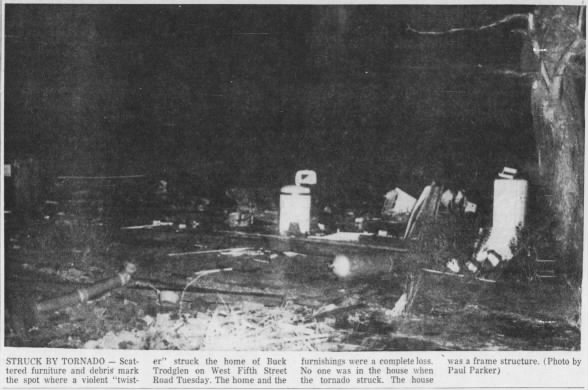 West Louisville, KY – Tell City, IN F3 Tornado – December 9, 1952